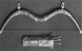 Древний армянский лук и колчан - XIV -XII век до. н.э.
