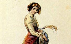 Иллюстрации армянских женщин
