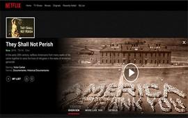 Netflix: Документальный фильм о Геноциде армян