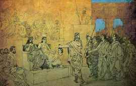Царь Артавазд II - Армения-Парфия-Рим