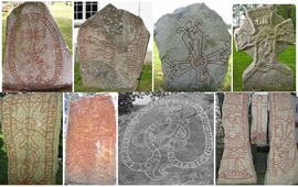 Армянские наскальные рисунки и скандинавские Руны
