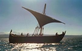 Реконструкция древнего армянского корабля