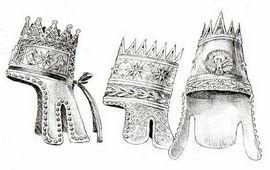Армянская тиара - Символика числа пять