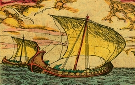 В Армении изготовлялись корабли