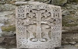 Найден хачкар XII века монастыря Майраванк