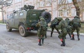 Цель ввода подразделения российской военной полиции