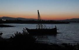 В гробнице озера Севан обнаружена древняя лодка