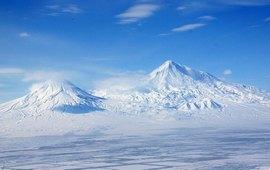 Горные вершины Армянского нагорья