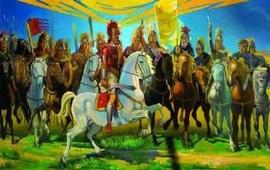 После битвы при Гавгамелах - Воин Армении