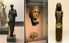 Богиня Анаит и ее бронзовый бюст