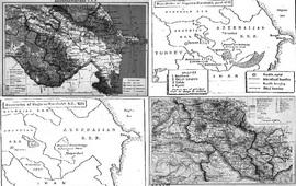 Карты перекройки армянской автономии без ее согласия