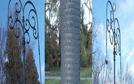 """""""Фонари памяти"""" в Женеве - Памятник Геноциду"""