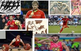 Армяне в спорте - От царей Олимпиоников