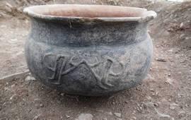 Армения - Ширак - Раскопаны городище и некрополь