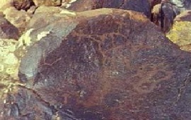 Земля в муках родила Луну - Наскальные рисунки Армении