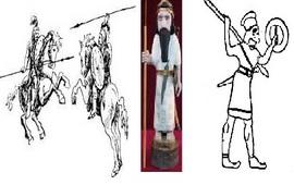 Древний воин Армении