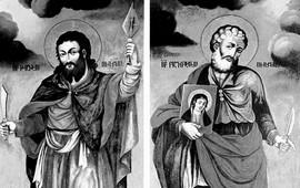 Апостолы Фаддей и Варфоломей - Основоположники