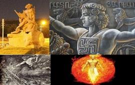 Рождение Ваагна – Первочеловека прототипа бога Одина