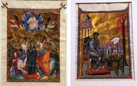 Две миниатюры Тороса Рослина