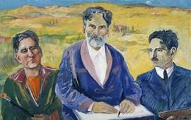 Мартирос Сарьян в Третьяковской галерее