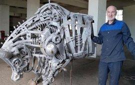 Ара Алекян - Уникальные скульптуры из металла
