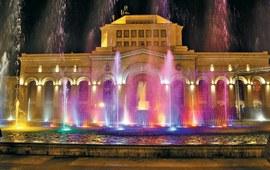 Ереван - Бассейн с поющими фонтанами