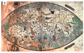 Армения на картах мира - Пергамент