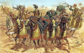 Битва при Гавгамелах - Армянская конница