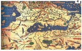 Армения на картах мира - Раннее средневековье