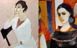 Минас - Портрет жены художника