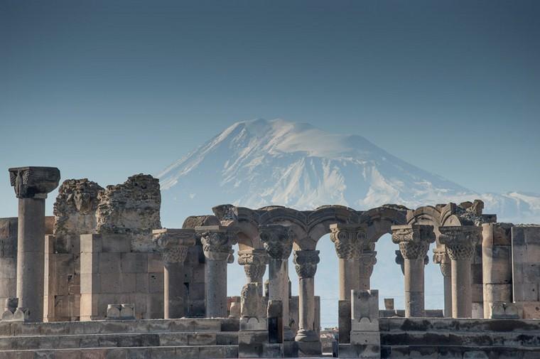 Загадки армянского храма Звартноц