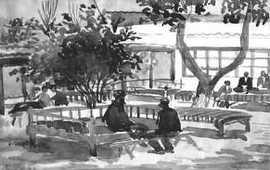 Альберт Овсенян в Государственном музее