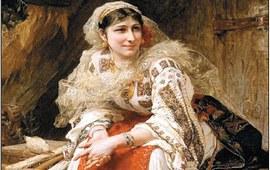 Люди и имена в истории Армении - Армянки на холстах