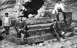 Последняя фотография могилы царя Ашота