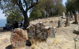 Осквернение древнего кладбища