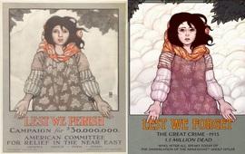 Геноцид армян в искусстве плаката