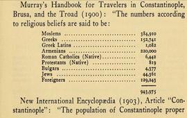 Конфессиональная демография Константинополя