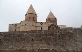 Древнейший армянский монастырь в Иране
