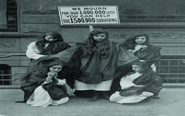 Нью-Йорк 1917 - Акция сбора средств