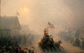 Две запрещенные в России картины Айвазовского
