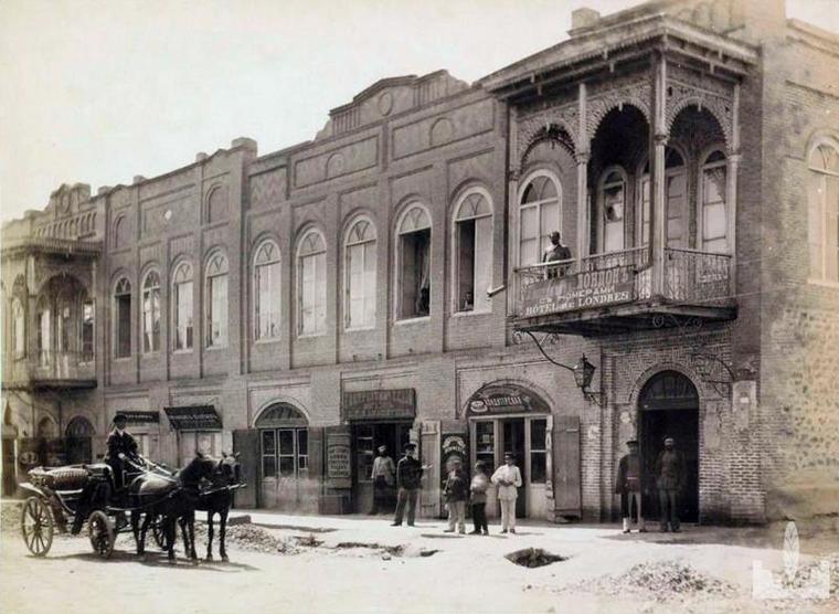 Фото: Самая оживленная улица Кнунянц в Ереване (1918г. - 1920г.)