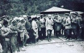 Лето-1918 год -  Германия ввела войска в Грузию