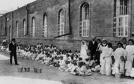 Уникальная кинопленка времен Геноцида армян
