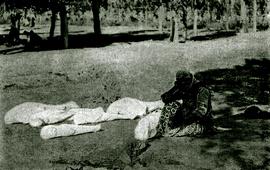 """Фотография времен Геноцида армян названная """"Безысходность"""""""