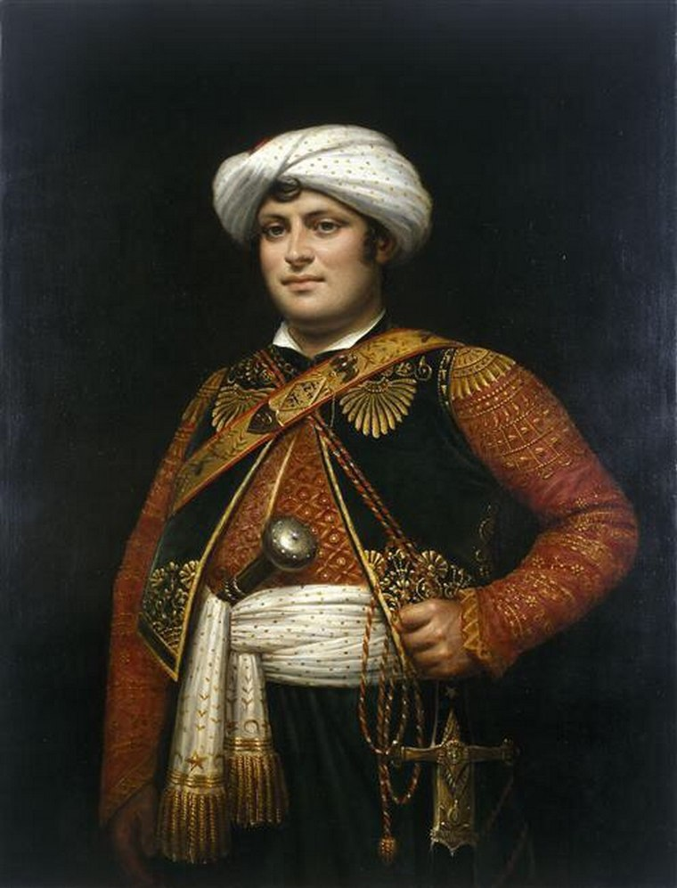 Рустам Раза - Армянин - Мамлюк Наполеона Жан-Батист Изабе (1767-1855) — французский художник, мастер миниатюры и рисунка.