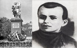 Памятник образцовому коммунисту Гукасу
