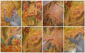План города Ани - Город на стене