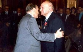 Диран Воскерчян - Кавалер ордена