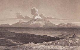 Поселение Акори на склоне горы Арарат