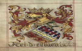 Военный герб Киликии на португальской миниатюре